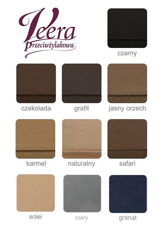 paleta kolorów veera przeciwżylakowe